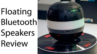MOXO CX-2 Floating Bluetooth Speaker Review- Wireless Charging Magnetic Levitating Speaker