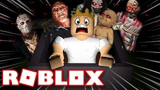THE SCARY HALLOWEEN RIDE IN ROBLOX | Roblox - Hallow