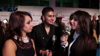 Punjab2000.com interview with winners of the BEST URBAN ACT Arjun  at the UK AMAs 2012
