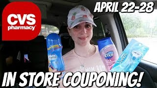 CVS IN STORE COUPONING 4/22/18-4/28/18!  MM RAZORS, TOOTHPASTE, & HAIR COLOR!
