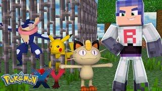 Minecraft: Pokemon X Y - ROUBARAM O GRENINJA E O PIKACHU #4