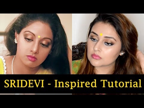 Xxx Mp4 Sridevi Inspired Makeup Look Tutorial Chandni Its Ayesha Online 3gp Sex