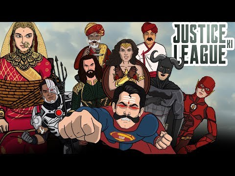 Justice League Spoof    Shudh Desi Endings