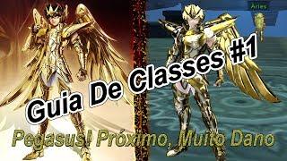 """Saint Seiya Online Classe De """"Pégaso"""" A Base Que Você Precisa Saber Sobre Ela Mostrando e Explicando"""