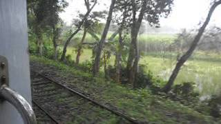 Maitreyee Express: Entering Bangladesh