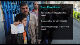 Iranians vote in second round of elections, Amin Darban reports