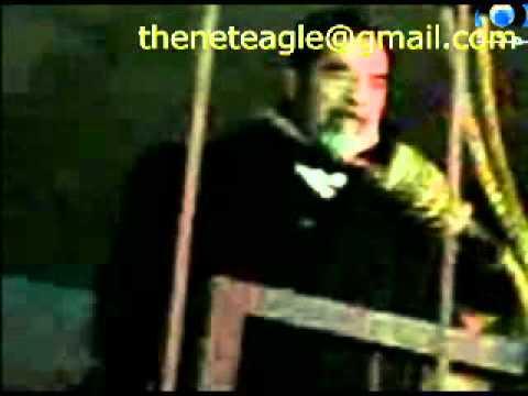رسالة امريكي حضر اعدام صدام حسين Saddam s Execution