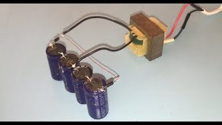 How to make Voltage doubler, How to increase voltage using Diodes and Capacitor