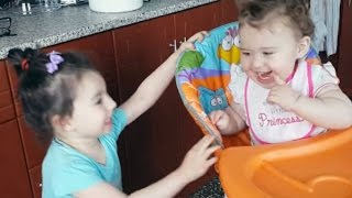 Cute Baby Siblings Talking and Arguing To Each Other [NEW FULL HD VIDEO]