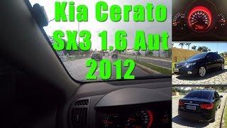 Kia Cerato 1.6 Aut SX3 - Falando do Carro