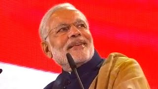 Watch PM Modi's full speech at Wembley Stadium