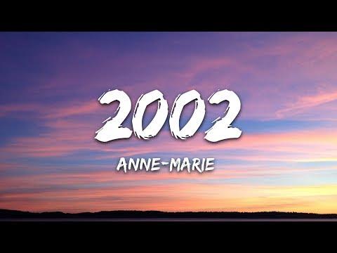 Anne Marie 2002 Lyrics