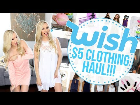 Trying $5 Clothing from Wish! IS IT A SCAM?!