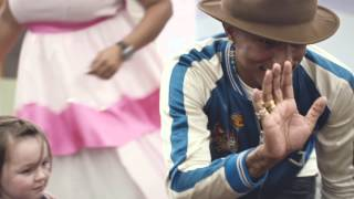 Pharrell Williams gives his fan a Priceless Surprise