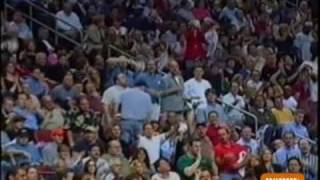 Allen Iverson 45pt vs Reggie Miller 41pts Indiana Pacers 00/01 NBA Playoffs Gm2 *Fancy move