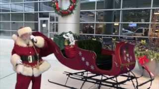 Santa & Elves Caught on Video at C.S. Mott Children