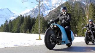 Green Technology - Johammer Electric Motorcycle - Futuristic electric cruiser