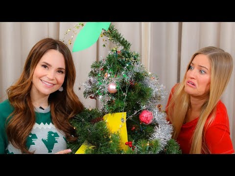 Xxx Mp4 Blindfold Christmas Tree Decorating Challenge With Ro 3gp Sex