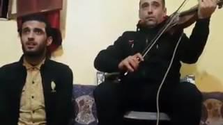 الفنان باسط القطعاني . عيون القلب  .. عزف جميل على الة الكمان /  Libyan violin music