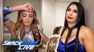What is Peyton Royce suffering from after the Insane Elbow?: SmackDown Exclusive, April 23, 2019