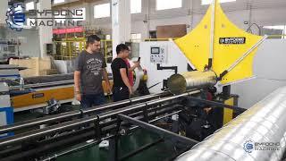 BFL-1500 Spiral duct making machine spiral tubeformer
