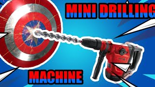 How to make a mini drilling machine at home using toy gun
