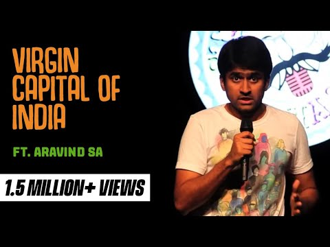 S Aravind - evam Standup Tamasha - Virgin Capital of India