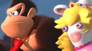Donkey Kong Adventure DLC For Mario + Rabbids + DK Rap   E3 2018 Gameplay - Community Game