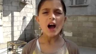 Gaza Under Attack 2014  Palestinian child message to the world