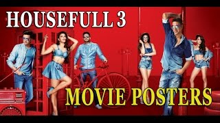 Bollywood Latest Film Housefull 3 poster out