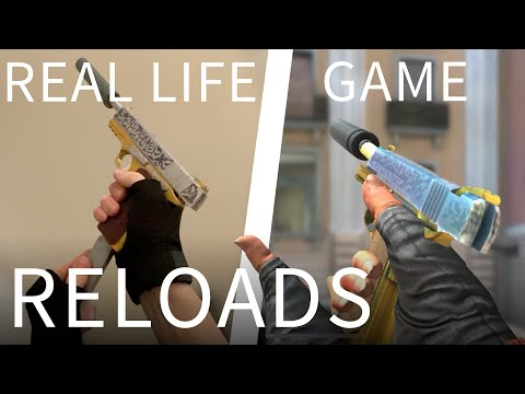 MOBILE GAME RELOADS IN REAL LIFE