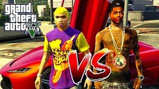 CHRIS BROWN VS SOULJA BOY (GTA 5 SKIT) 😂