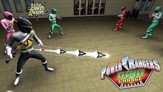 Power Rangers Dino Charge Rumble   FIRST LEVEL Challenges #2/2! By StoryToys Entertainment
