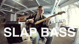 SLAP BASS - FUNK RIFF