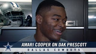Amari Cooper on Building Chemistry with Dak Prescott and a New Offense   Dallas Cowboys 2018