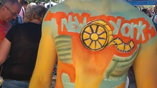 NYC Bodypainting Day 2018 (Teaser)