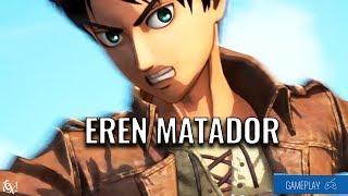 EREN ACABANDO COM TODOS TITÃS (OU NÃO)   ► Gameplay Attack on Titan (PS4)