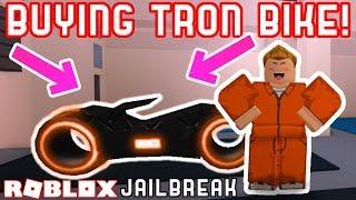 BUYING THE TRON BIKE! - Roblox Update Livestream