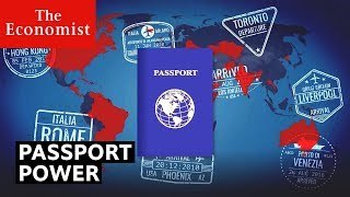 How powerful is your passport?   The Economist