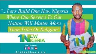 Watch Kannywood Superstar SANI DANJA speak about One New Nigeria