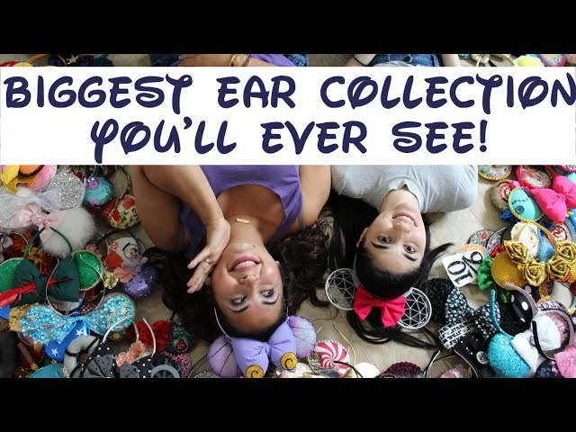 The BIGGEST Disney Ear Collection Ever!