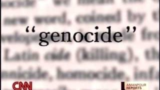 1/14 Scream Bloody Murder CNN Christiane Amanpour Genocide Armenia Jews Rafael Lemkin Elie Wiesel