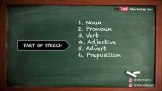 Grammar untuk pemula - PART OF SPEECH (Dasar belajar Bahasa Inggris) || Apa itu Unacadamy?