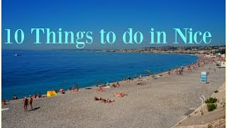10 Things to do in Nice
