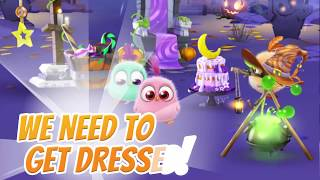 Angry Birds Match -  Halloween Hatchlings