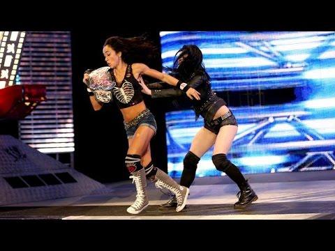 Xxx Mp4 WWE SmackDown 08 01 14 AJ Lee Vs Rosa Mendes 720p 3gp Sex
