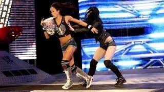 WWE SmackDown! 08.01.14 AJ Lee vs. Rosa Mendes (720p)