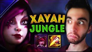 Xayah Jungle | Ormanın 50 Tonu