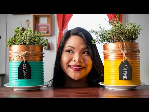 DIY Indoor Herb Garden | Just Eat Life