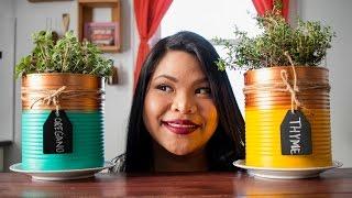 DIY Indoor Herb Garden | Just Eat Life